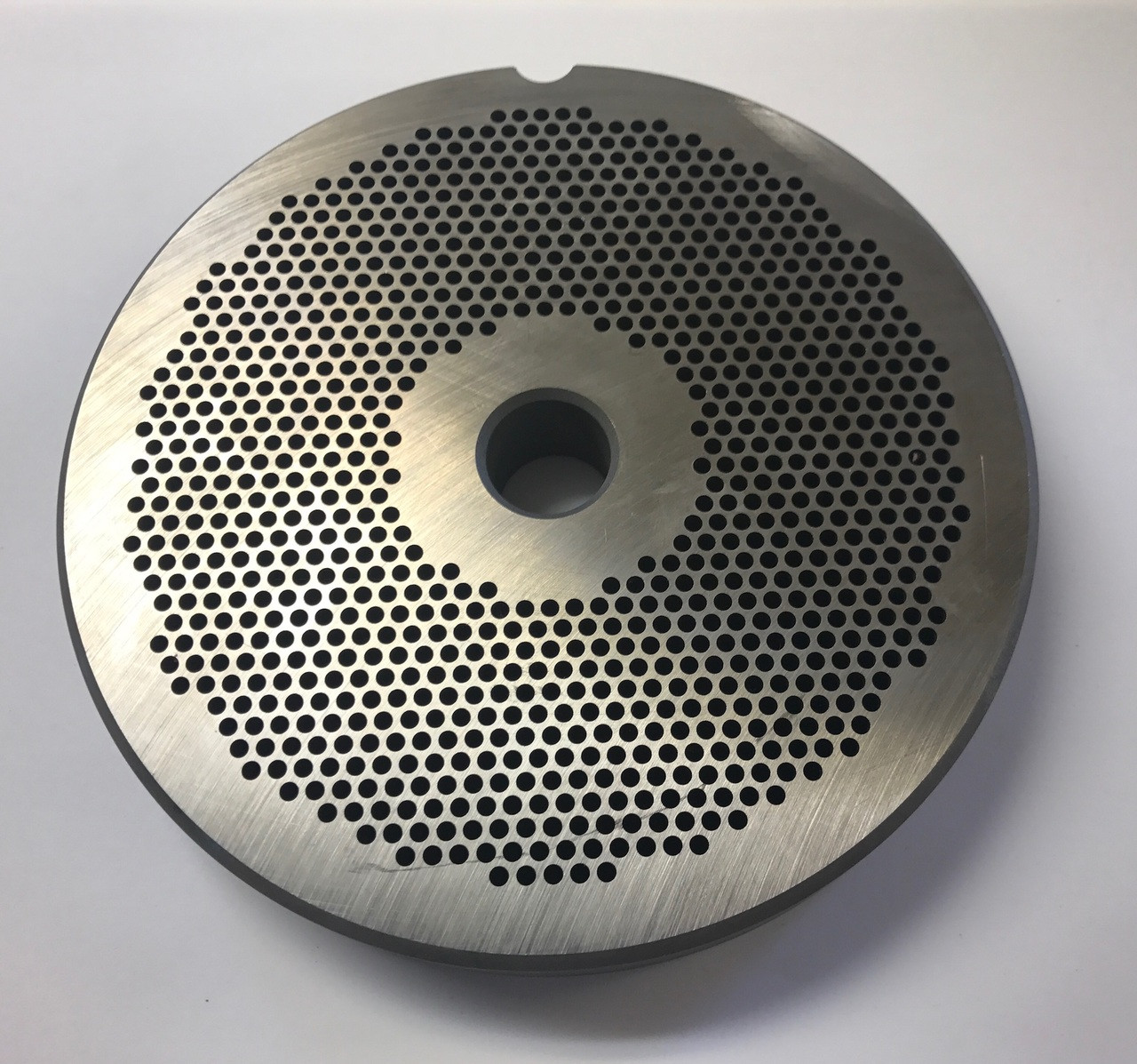 """#56 Speco Meat Grinder Plate with 7/64'' Holes - """"Reversible Plate"""""""