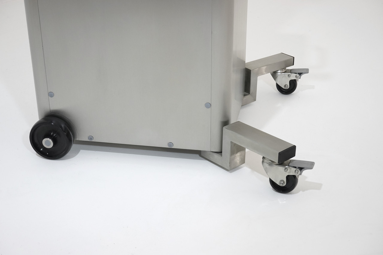 Two Swivel Casters (Optional)