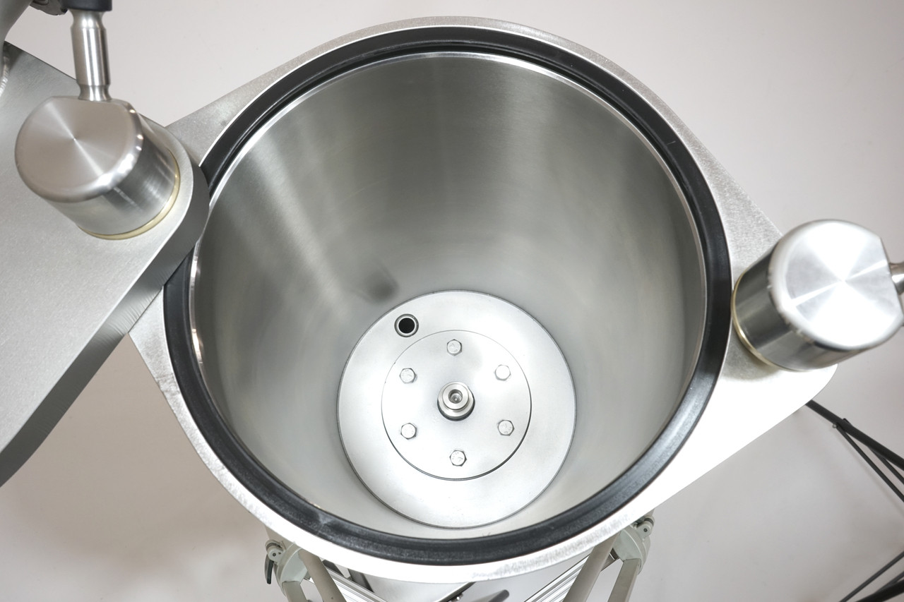 Piston Removed - Internal Tube for Discharge of Excess Air & Water