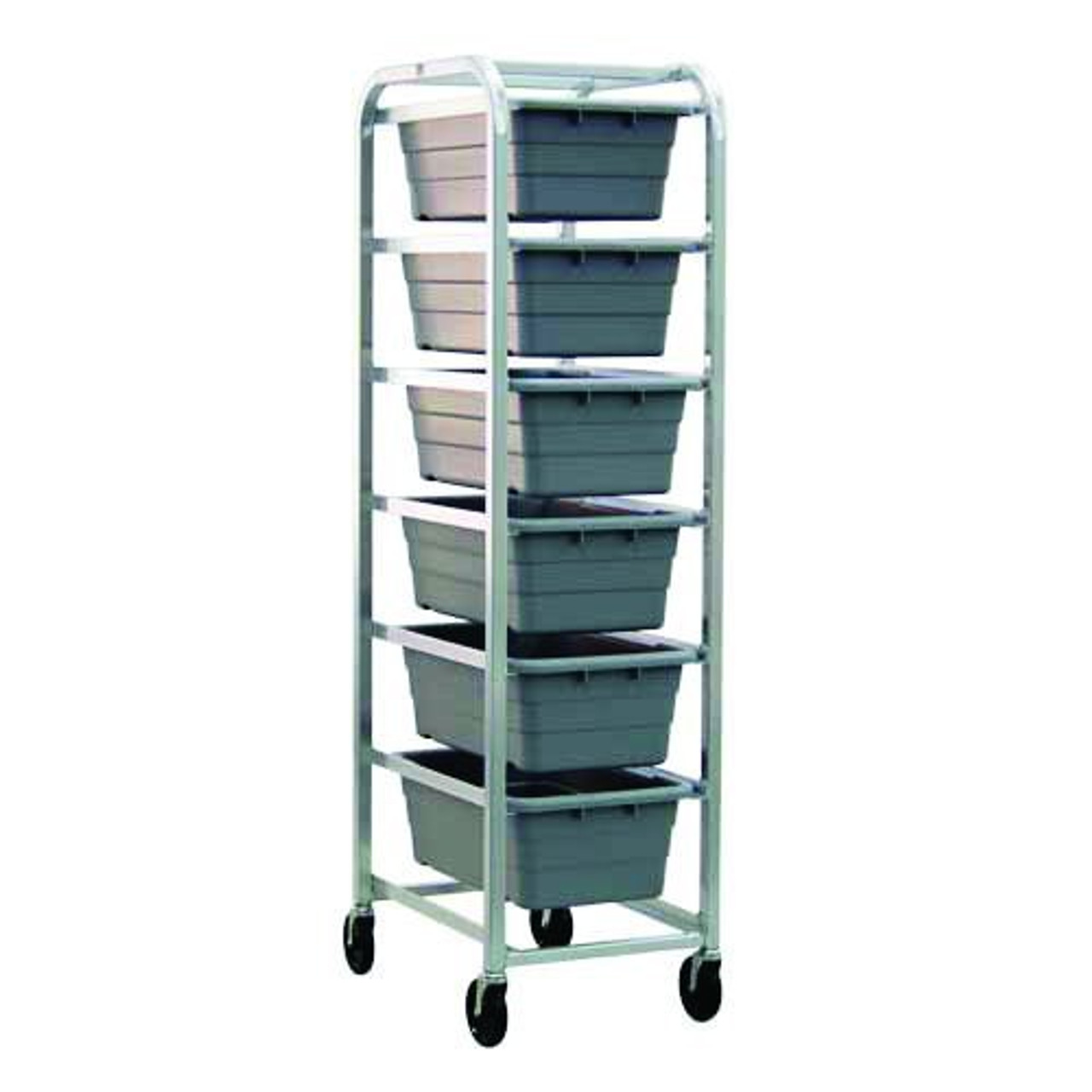 6 Tier - Six Tote -- Standard-Duty Aluminum Dolly