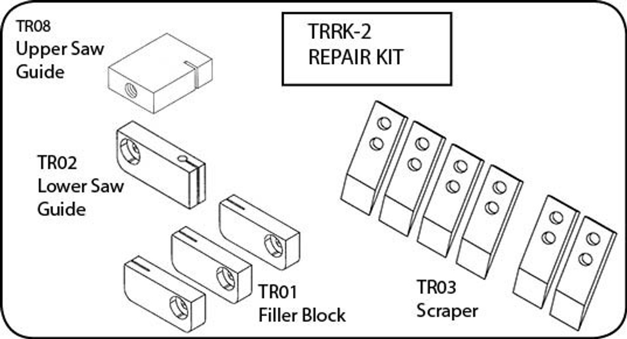 TorRey ST-200, ST295PE, ST295AI, ST305AI - Saw Repair Kit - TRRK-2