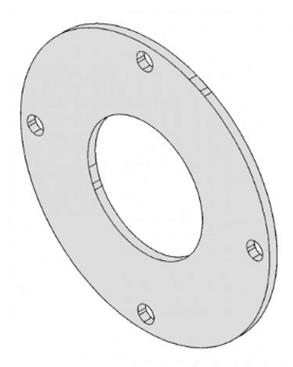 Hobart Saws - Rear Pulley Cover - H247 - 6614,6801