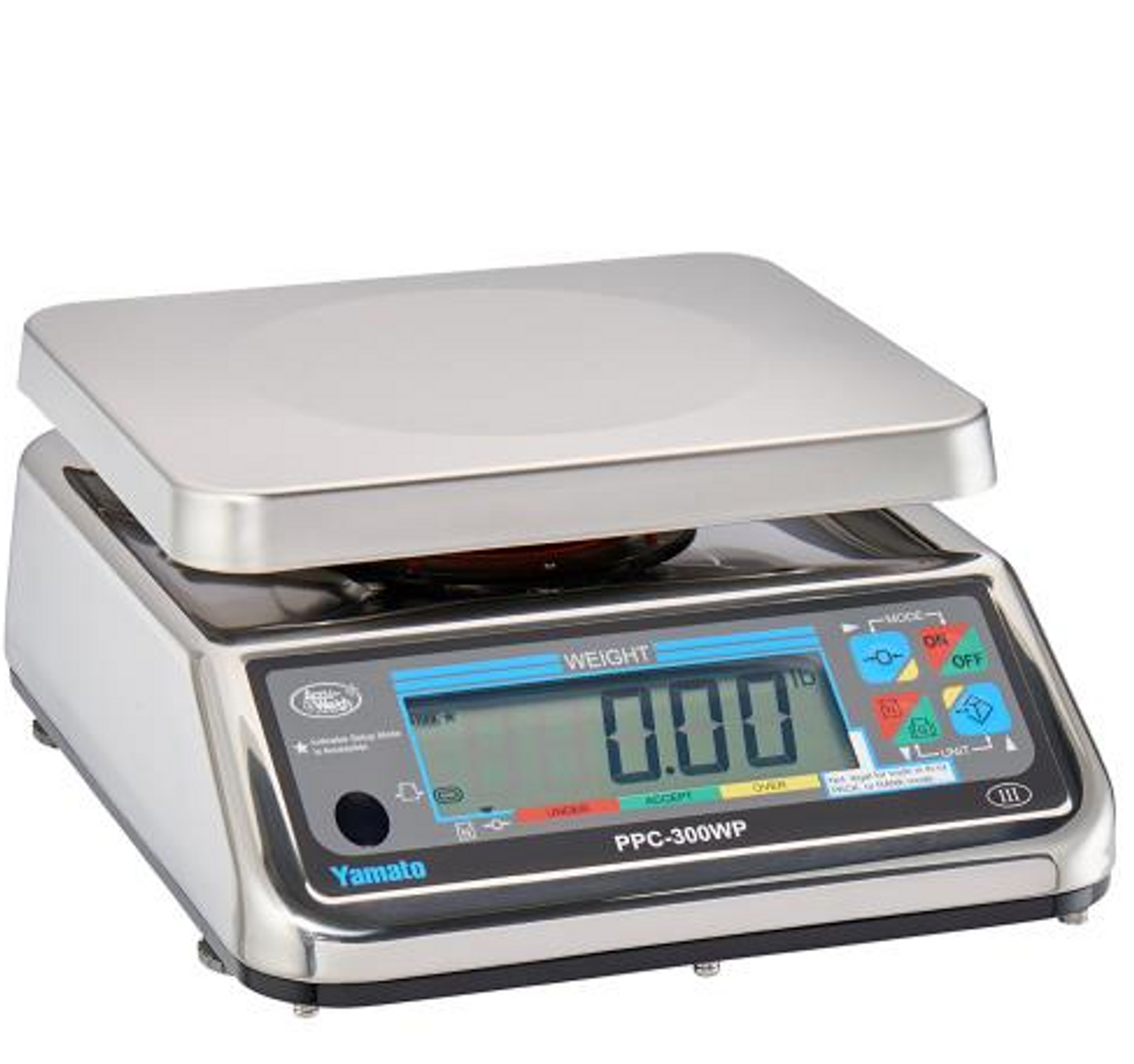 "Yamato PPC-300WP - Portion Control Scale ""Washdown"" - All Models -"