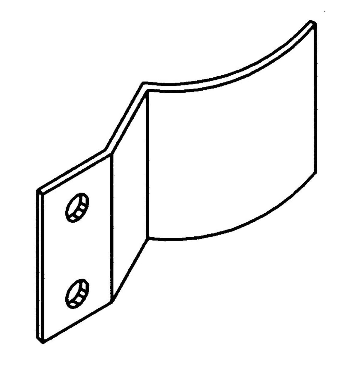 Hobart Saws - Door Clip fits S/S Door - H276
