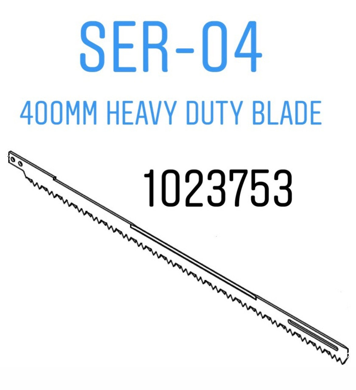 Jarvis SER-04 -- 400mm Saw Blade - Heavy Duty - 1023753