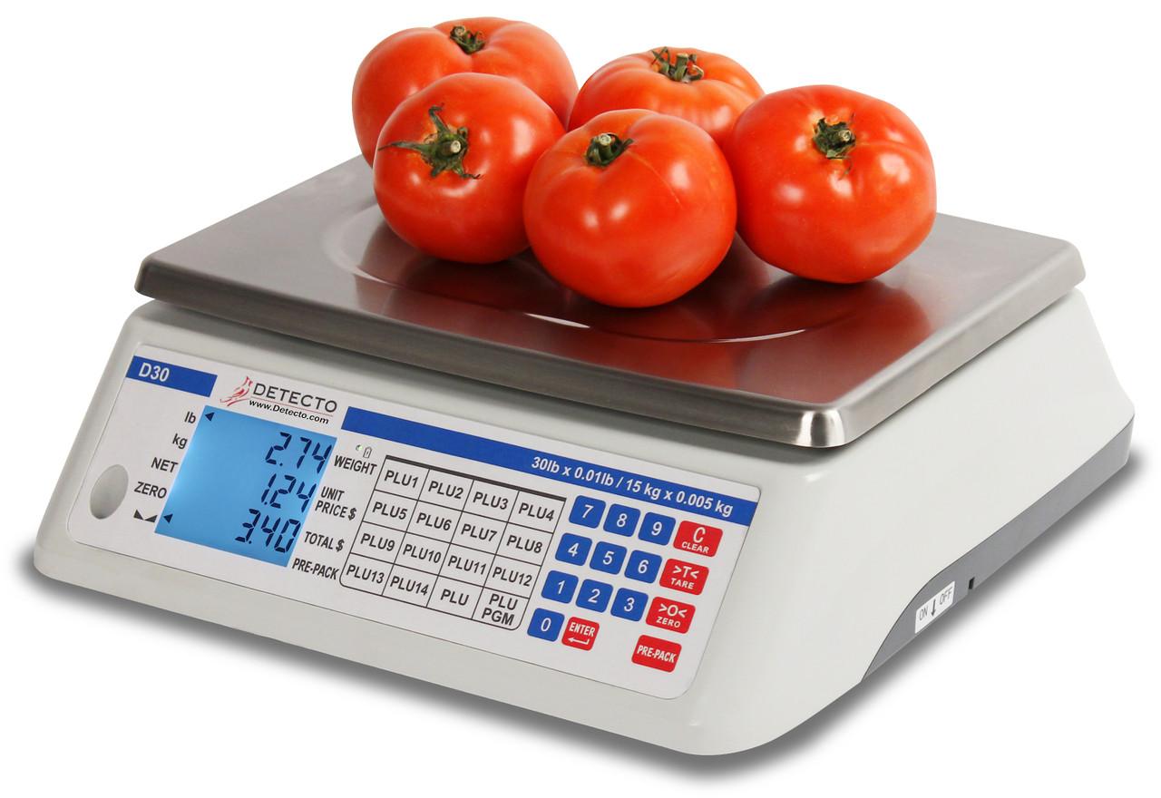 Detecto D30 Price Computing Scale