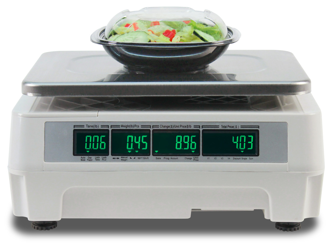 Detecto DL1060 60lb. Label Printing Scale