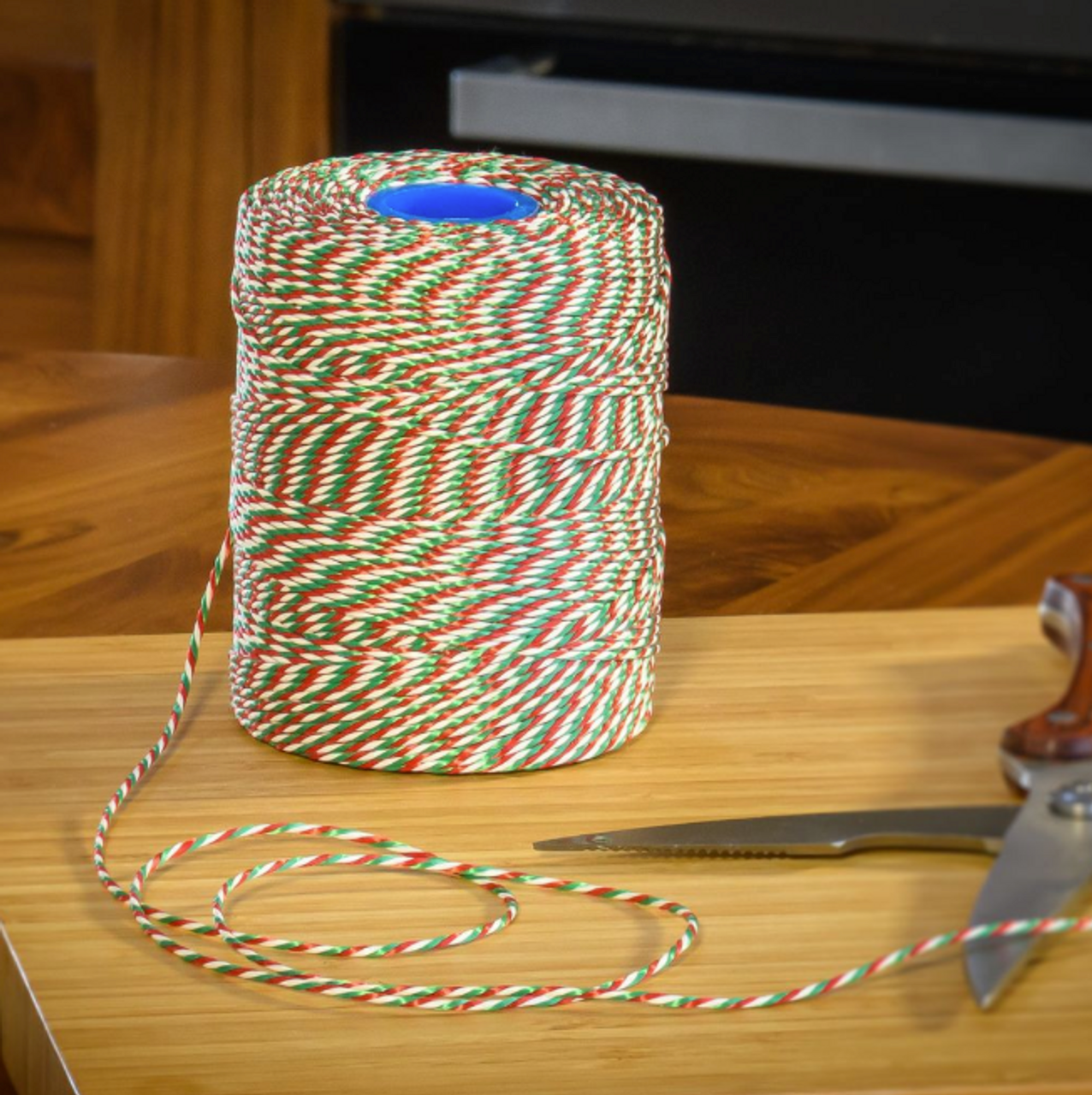 No.5 XMAS - Red, White & Green Butchers String/Twine - Henry Winning