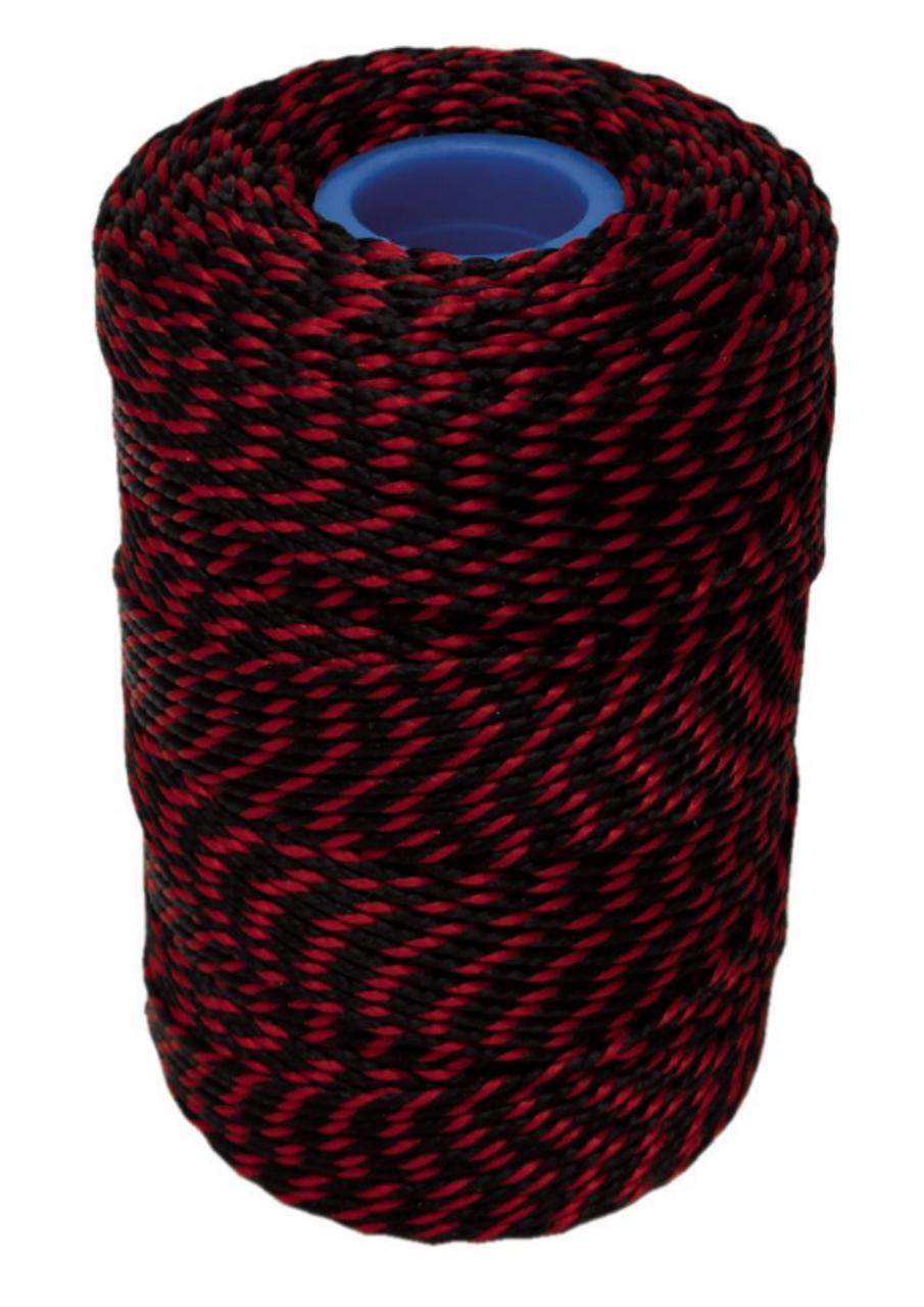 No.5 Red & Black Butchers String/Twine - Henry Winning