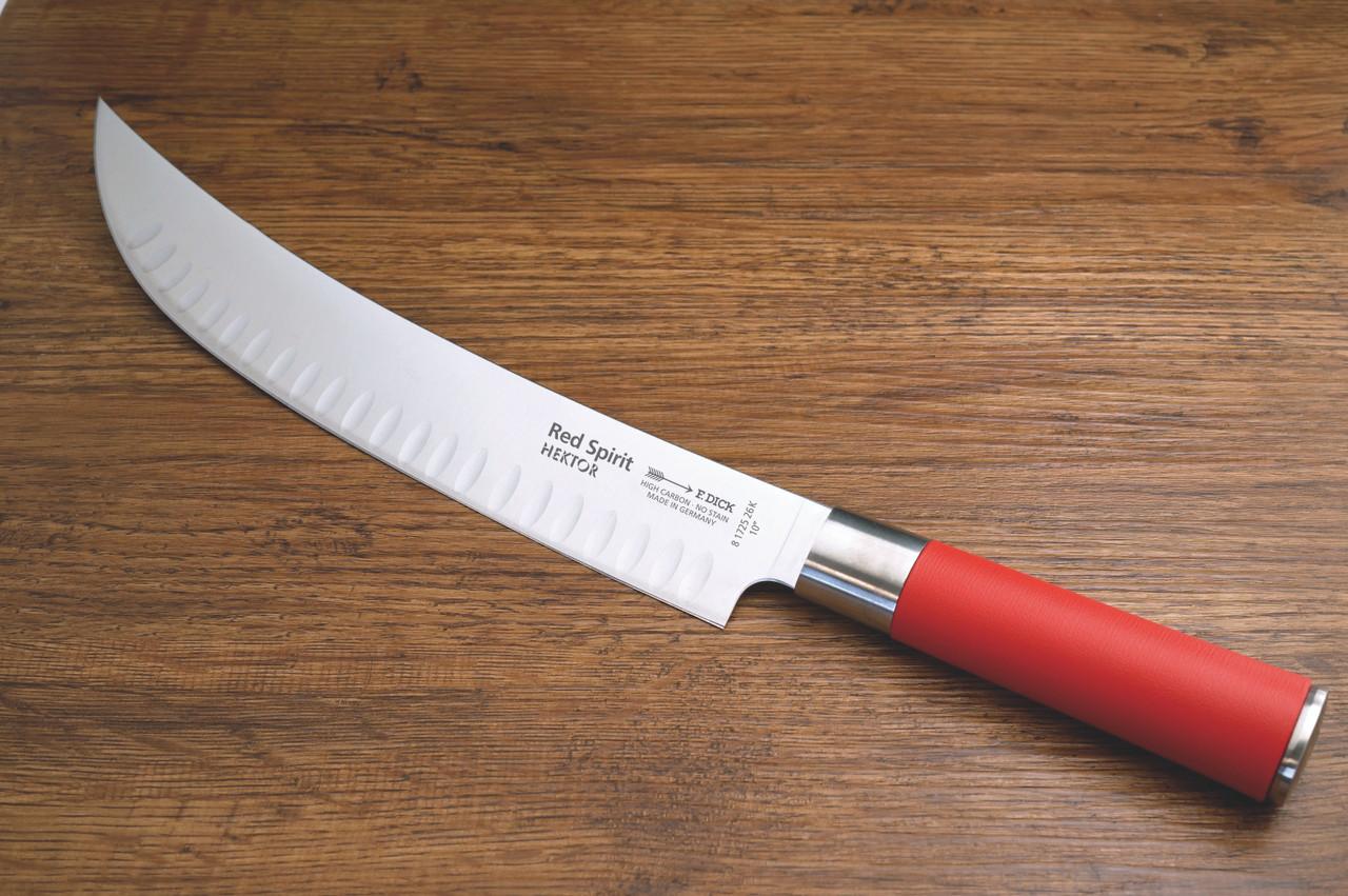 """F.Dick - 10"""" Red Spirit - Butcher's Knife - """"Hektor"""" - 8172526K"""