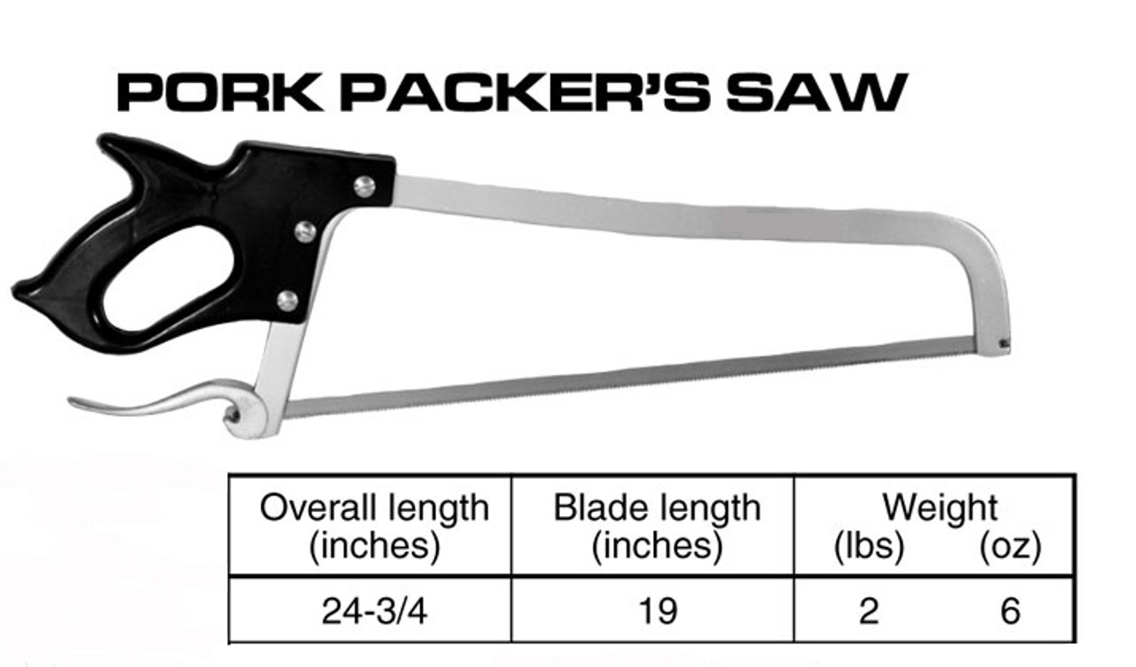 "19'' Pork Packer Handsaw - ""Made In The USA"" - HSF60000"