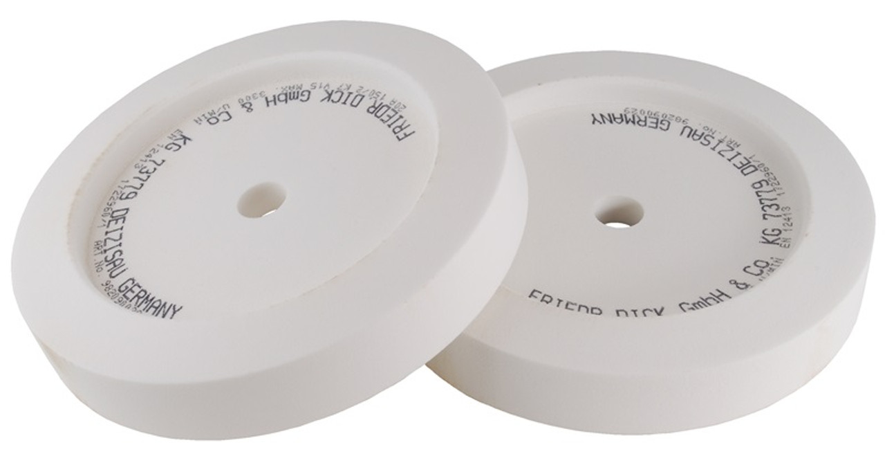 "F.Dick - SM-110 & SM-111 - Large Grinding Wheels ""240 Grit"" - Set of 2 - 982090029"
