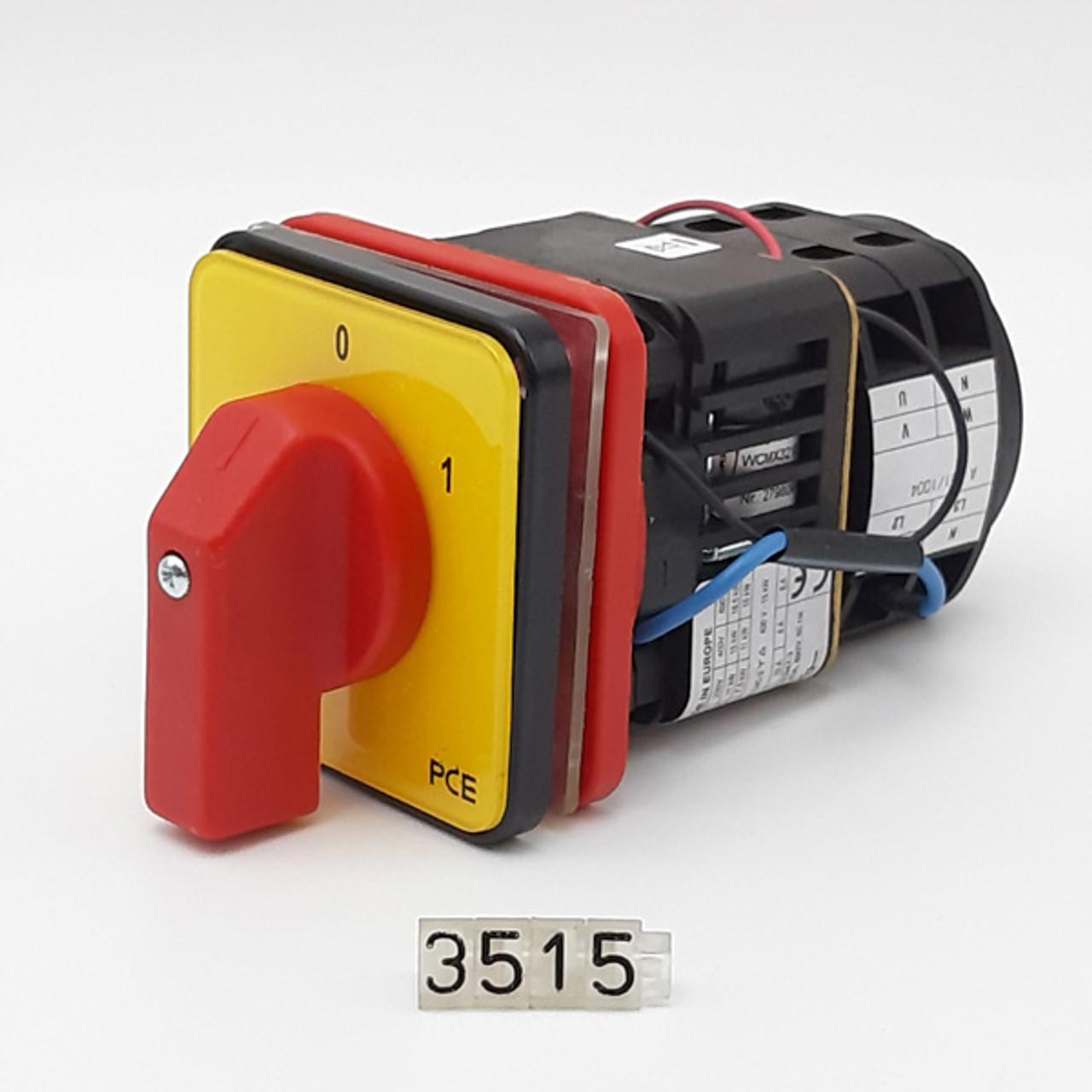 Talsa K-682 - K30e - SWITCH, 3-PHASE, DISCONNECTOR, 25A 208/220V 60HZ