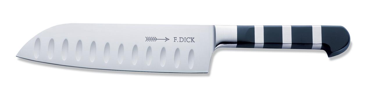 "F.Dick - 7"" Santoku Chef's Knife ""Granton Edge"" (KullenSchliff) - 1905 Series - 8194218K"