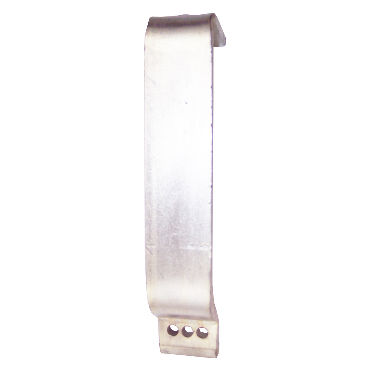 "12"" Hanger Bracket - One Top Hole - ""Zinc Plated"""