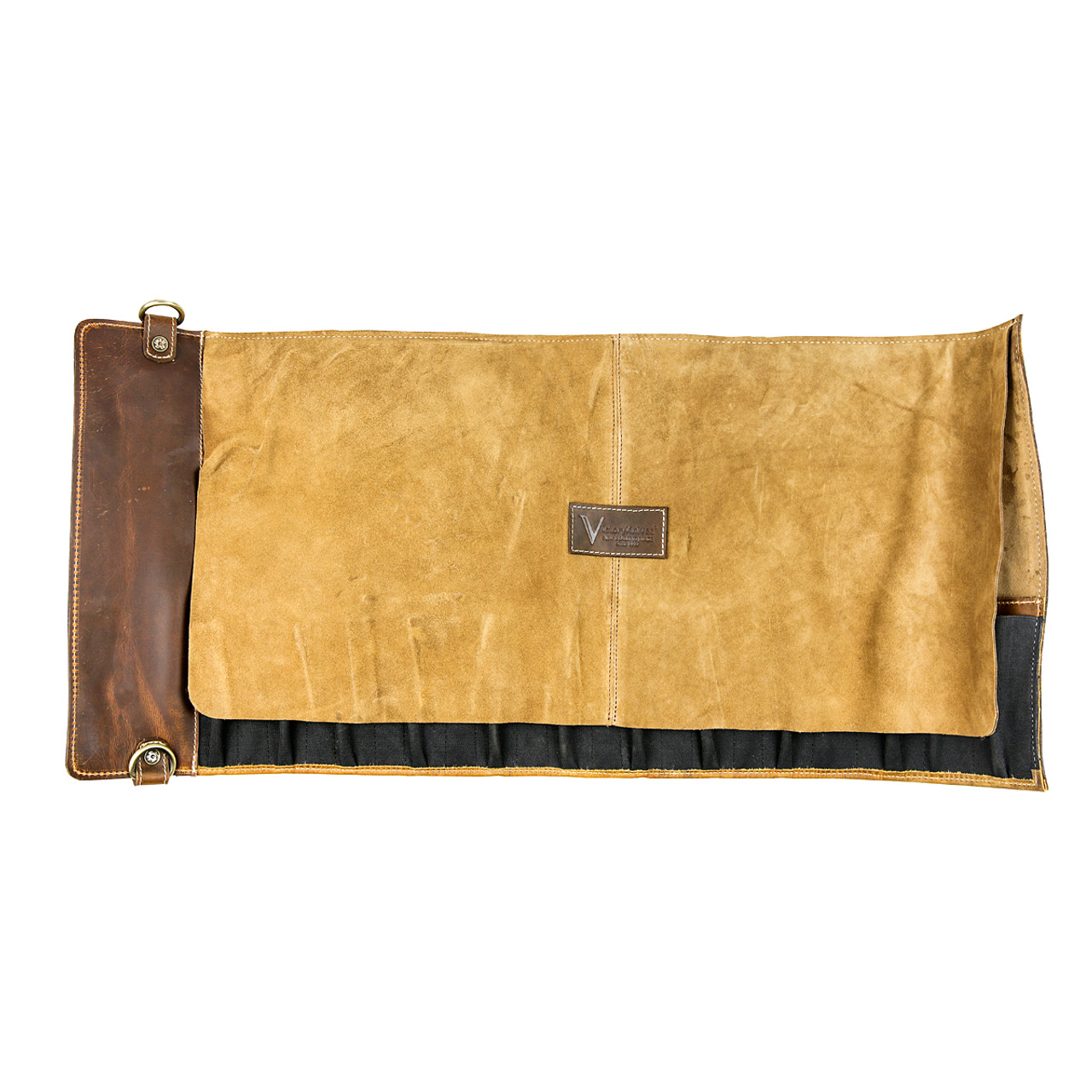 Victory Leather Knife Roll - 11 Pocket - TI 70