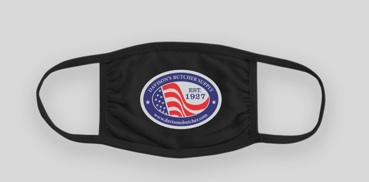 Davison's Butcher Supply - Mask with USA Logo