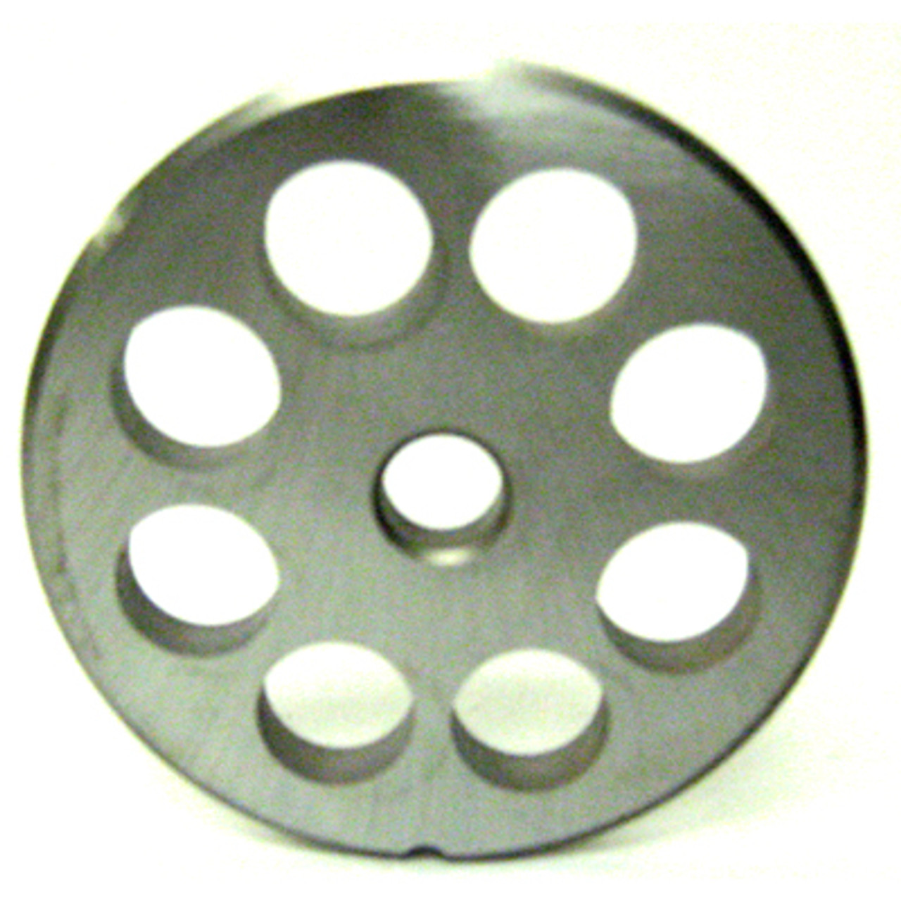 #22 Meat Grinder Plate with 5/8'' Holes