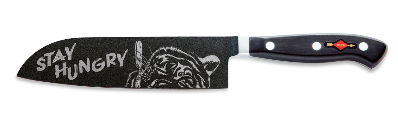 F.Dick - 18cm Santoku - Stay Hungry - Limited Edition - 8144218BS