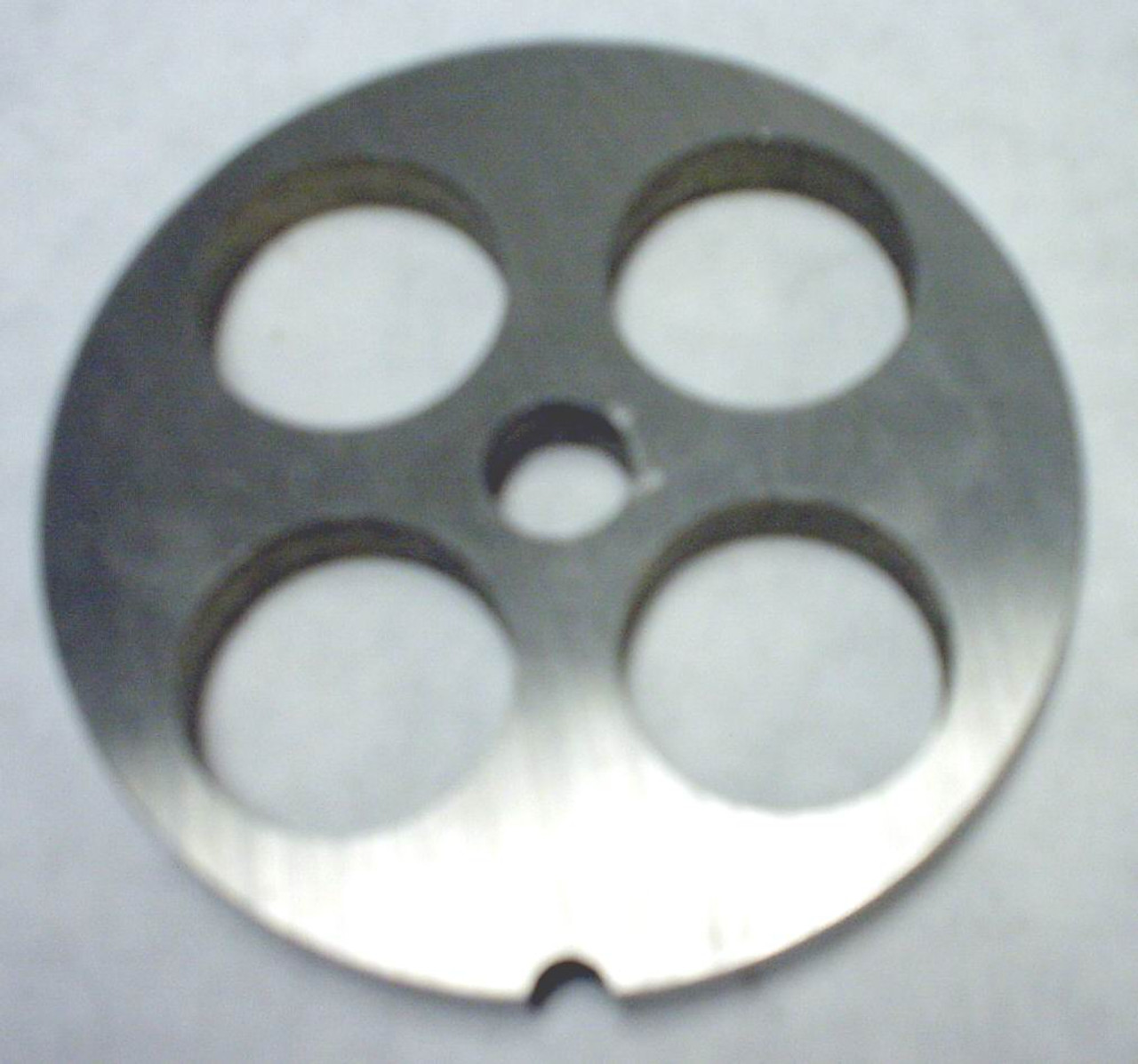 #22 Meat Grinder Plate with 1'' Holes