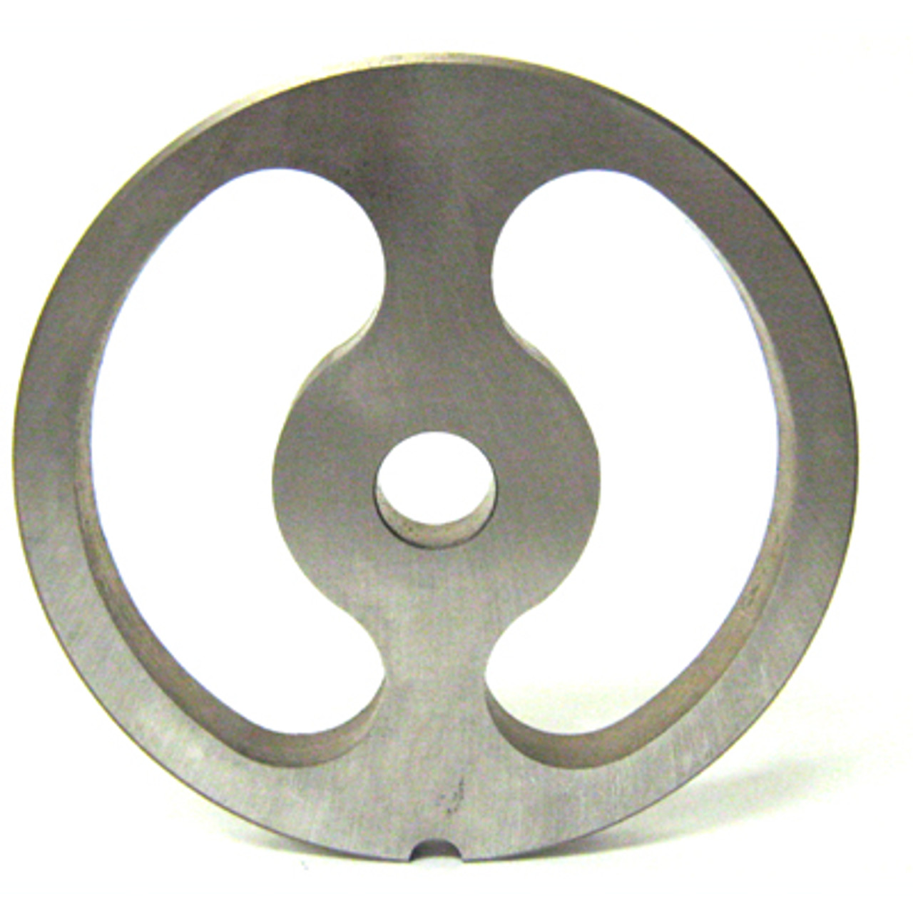 #22 Meat Grinder Plate with Kidney Holes