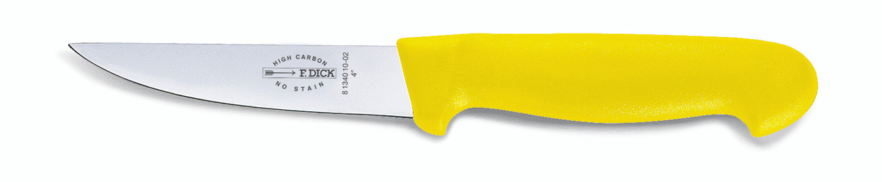 "F.Dick - 4"" Poultry Knife - ""ErgoGrip"" - 8134010-02 - ""Yellow"""
