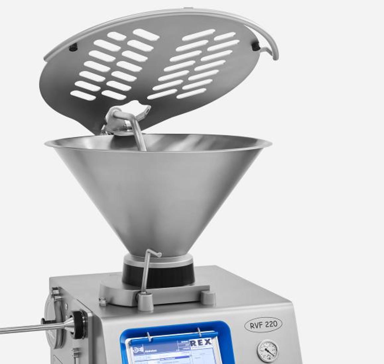 REX - RVF220 - Vacuum Stuffer w/ 50 Liter or 100 Liter  Hopper