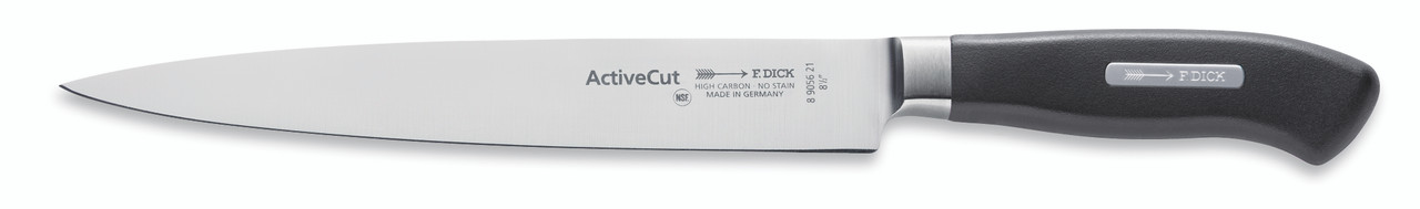 """F.Dick - 8-1/2"""" Carving / Slicer Knife Forged """"ActiveCut"""" - 8905621 - """"Black"""""""