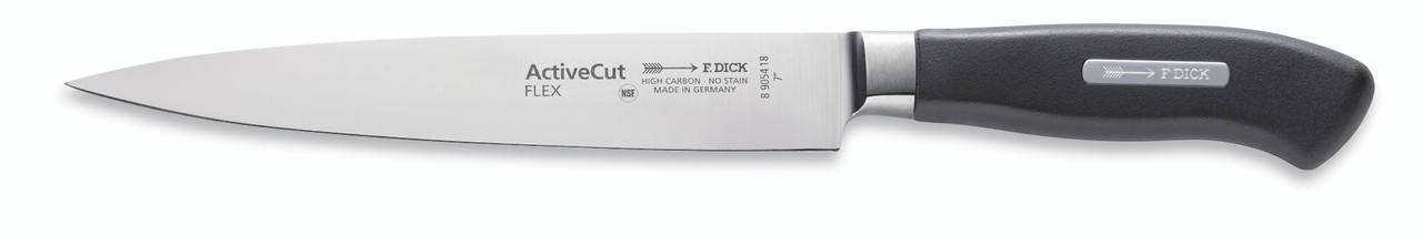 "F.Dick - 7"" Filleting Knife ""Flexible"" - Forged - ""ActiveCut"" - 8905418 - ""Black"""