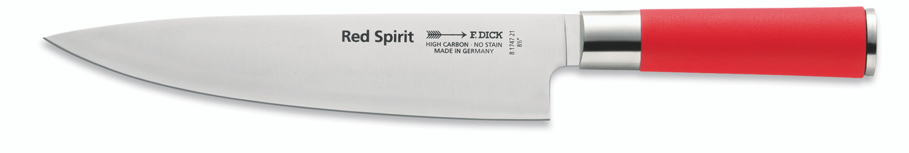 "F.Dick - 8-1/2"" Chef's Knife - Red Spirit - 8174721"