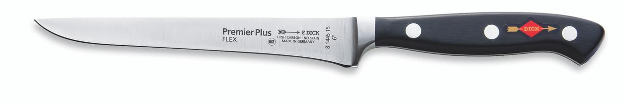 "F.Dick - 6"" Flexible Boning Knife ""Forged"" - 8144515 - ""Black"""
