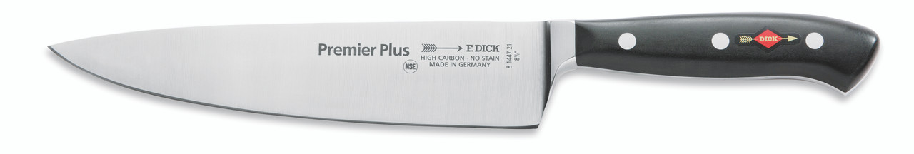"""F.Dick - 8"""" Chef's Knife """"Forged"""" - 8144721 - """"Black"""""""