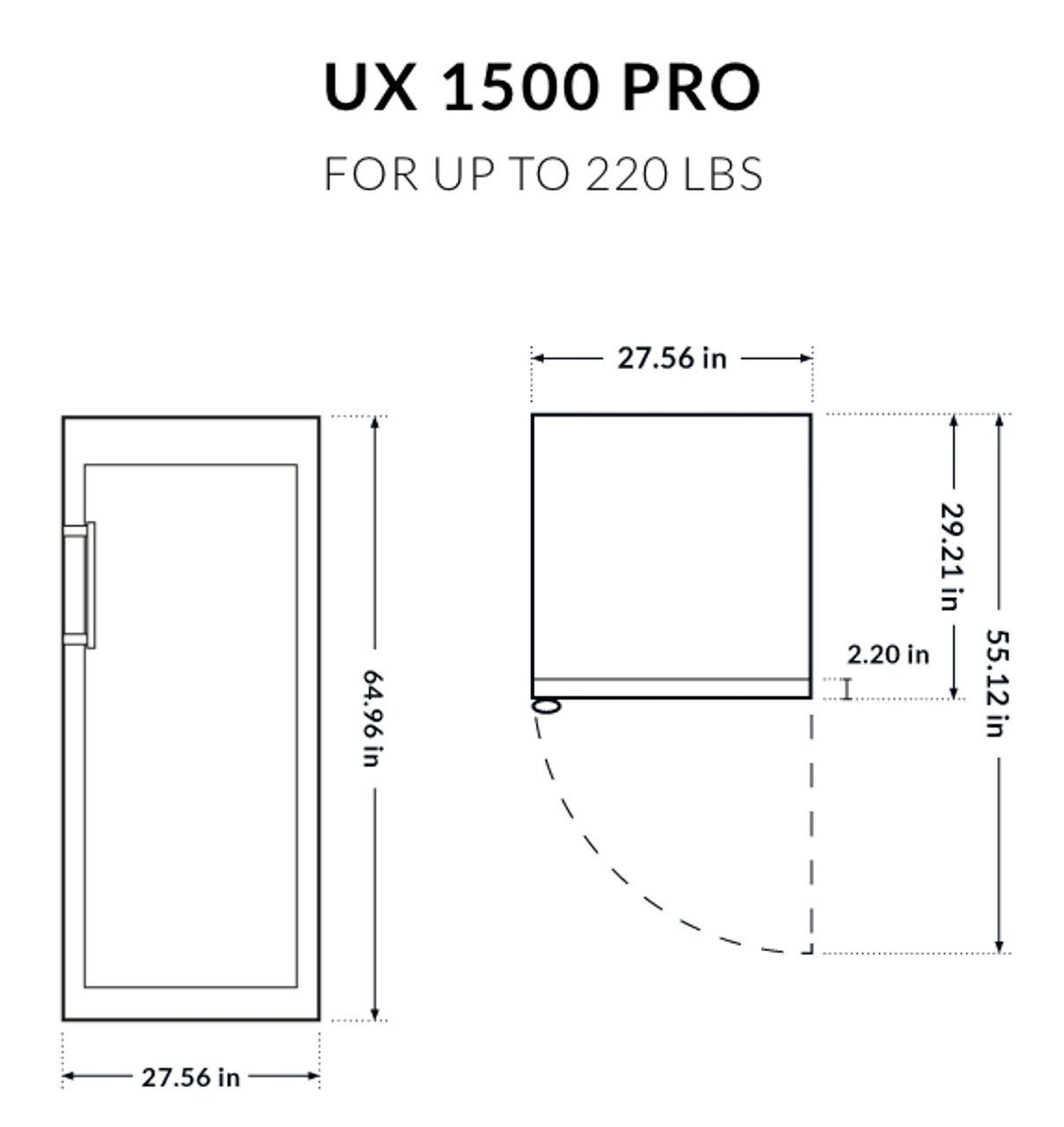 Dry Ager UX 1500 Pro - Up to 220 lbs.
