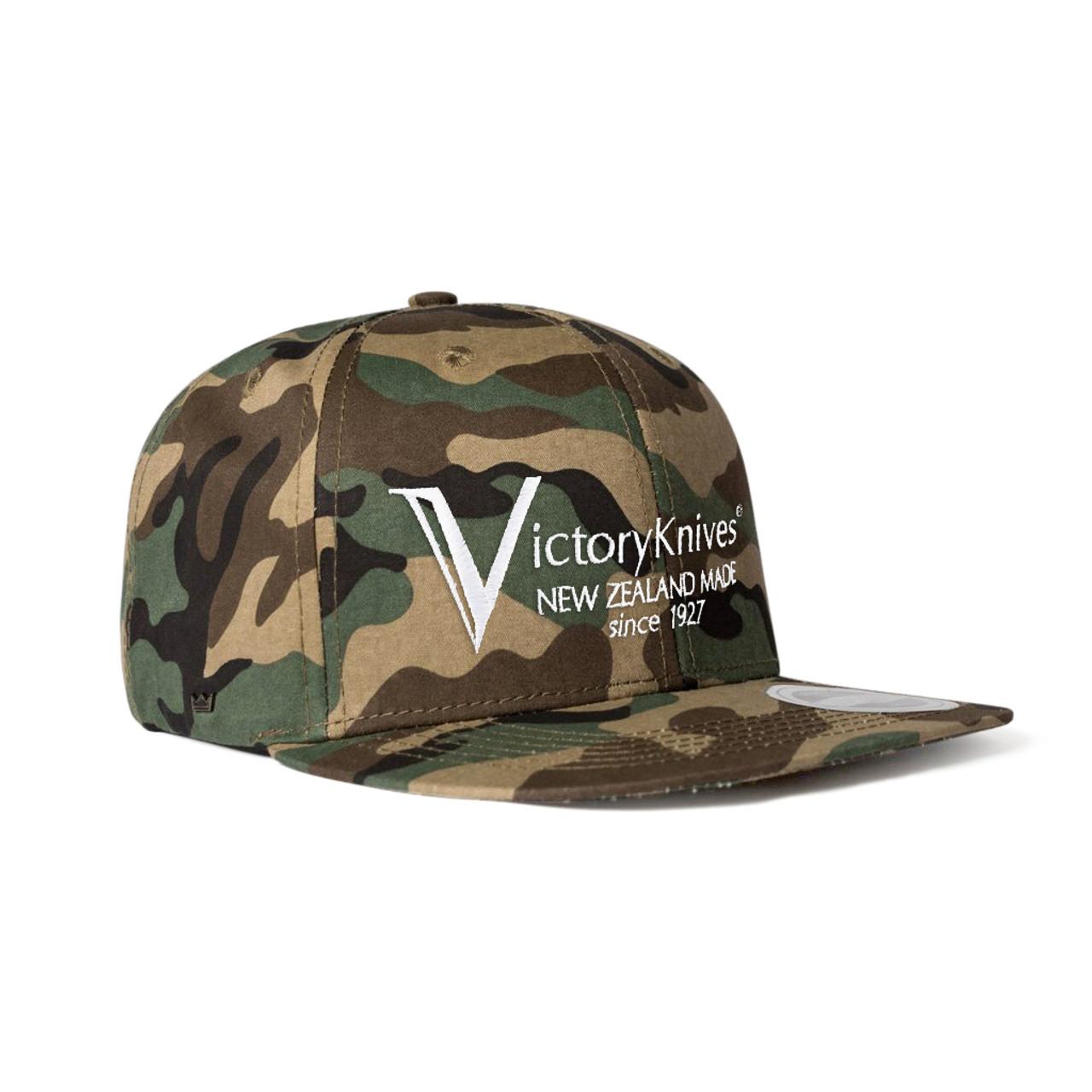 "Victory Knives - Hat ""Snapback"" - Camo"