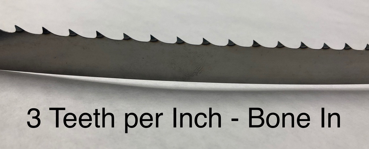 **CloseOut** - 124'' x .025 x 3TPI  - Meat Saw Blade