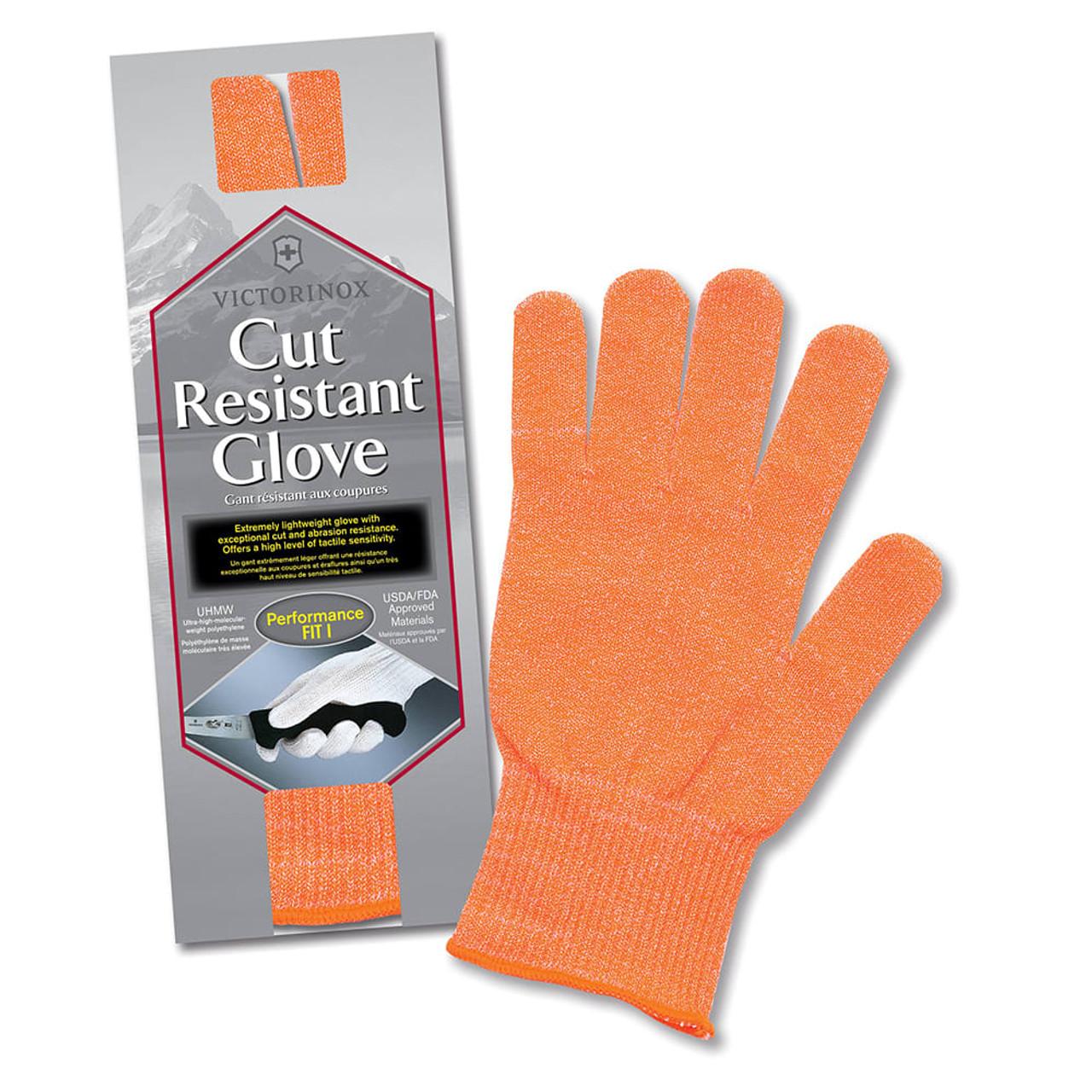 "Victorinox - Cut Resistant Glove  ""Orange"" - One Size Fits Most - 7.9048.9"