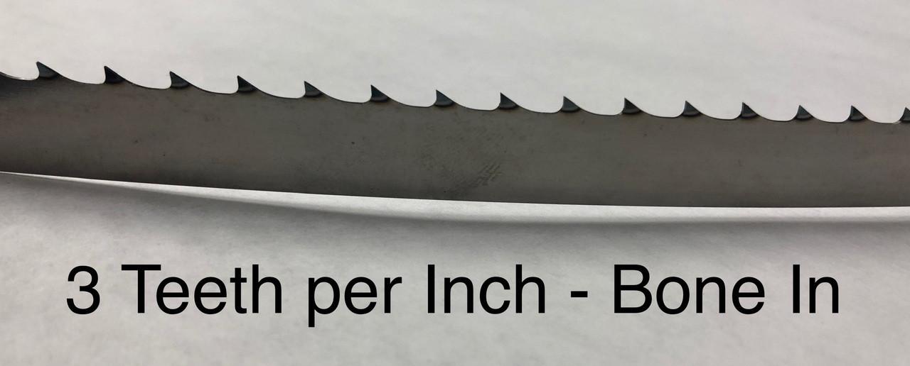 124'' Meat Band Saw Blades - Biro 3334