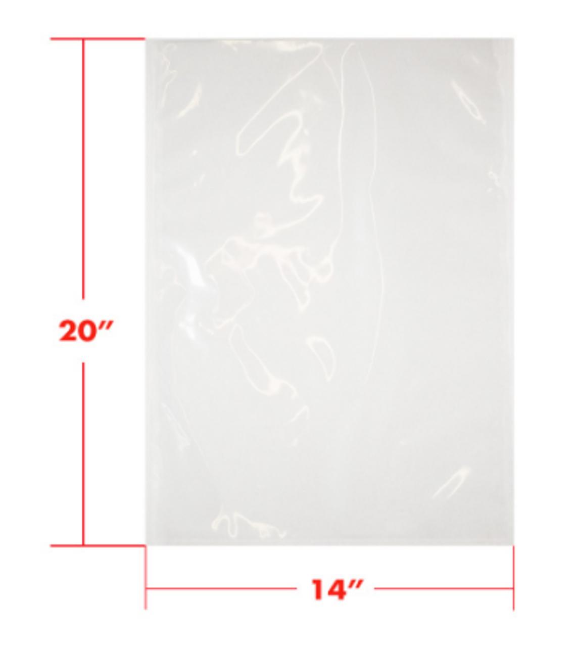 14 x 20 3mil Vacuum Barrier Bags (500)