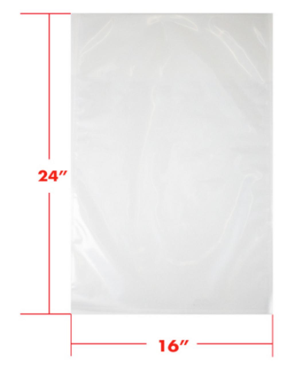 16 x 24 3mil Vacuum Barrier Bags (500)