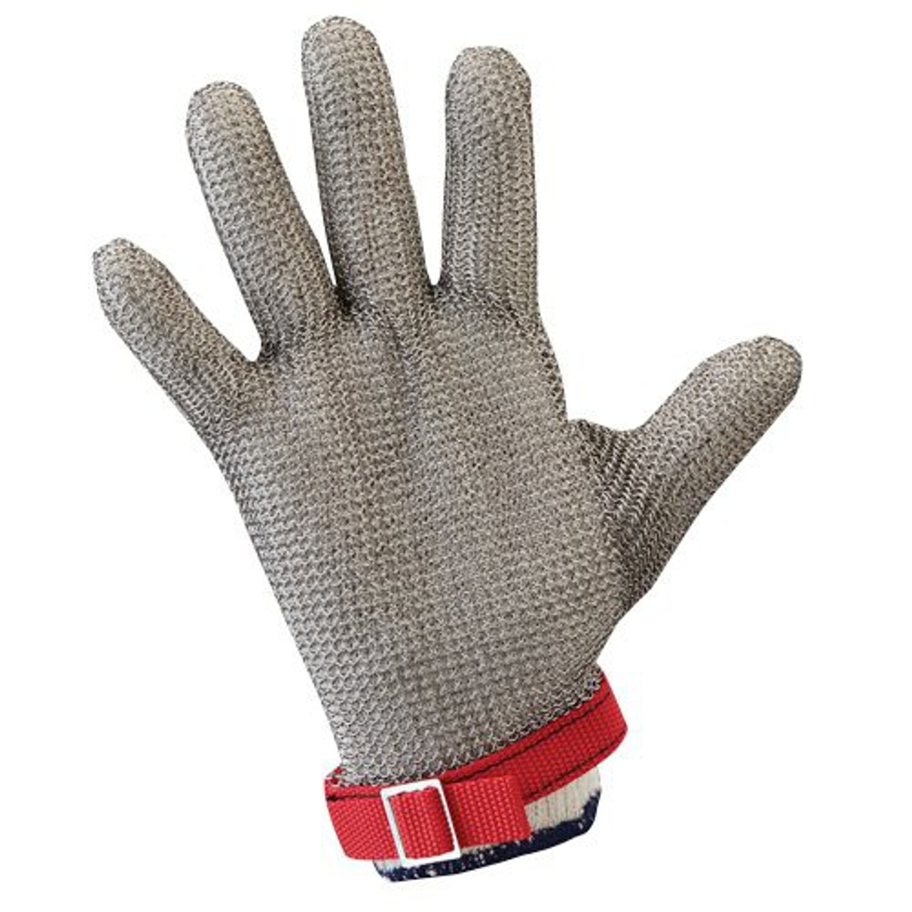 WorkHorse Stainless Steel Metal Mesh Gloves - Wrist Length Cuff