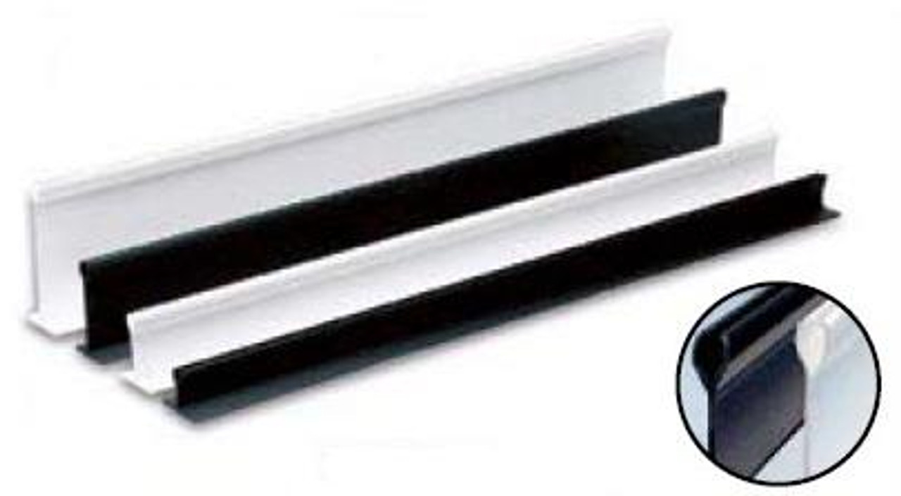 Plastic Holders White - 1''