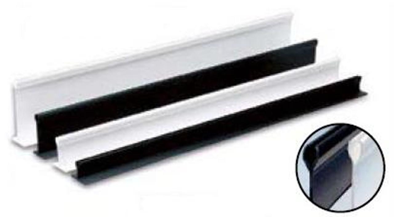 Plastic Holders White - 2''