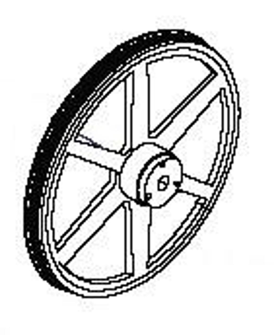 TorRey / ProCut Lower Wheel - ST-295PE, KSP-116