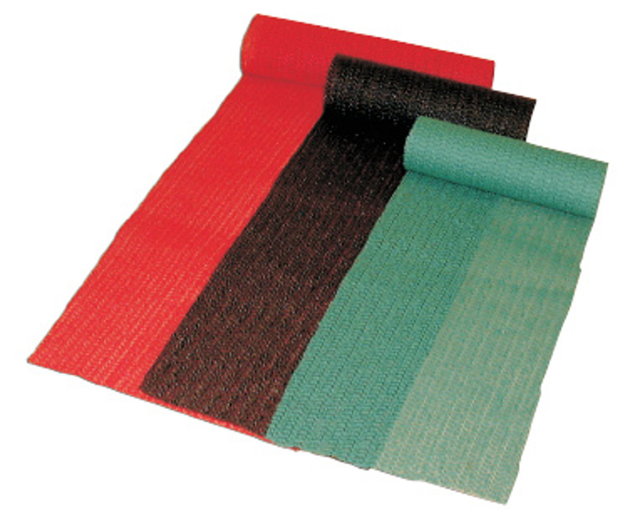 Sure Grip Meat & Produce Case Liner - Green, Red & Black