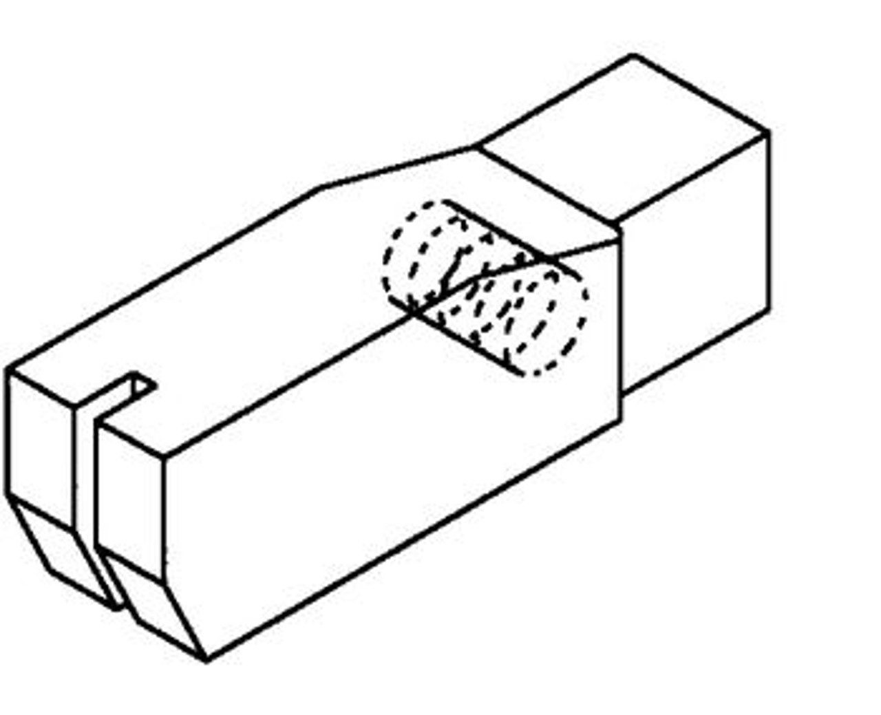 Hobart Filler Block Nylon - H106 - Models: 5700,5701,5801,6614,6801