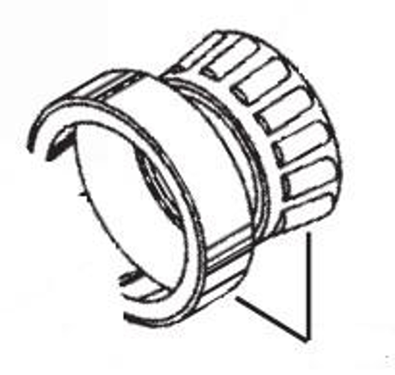 Globe Replacement Knife Plate Bearing - GS18-377