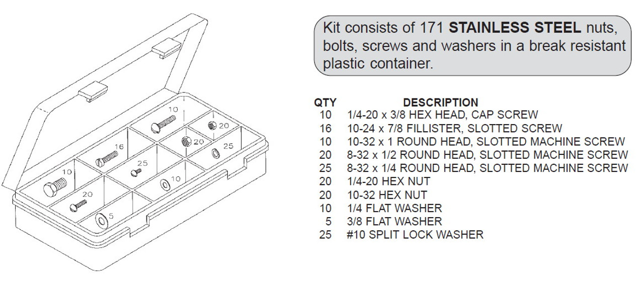 Biro Hardware Kit - BRK-5