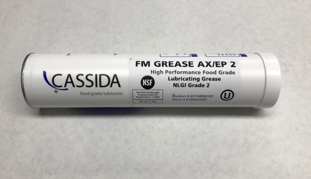 """Food Grade Grease """"White"""" - NSF Approved - Fuchs FM AX/EP2"""