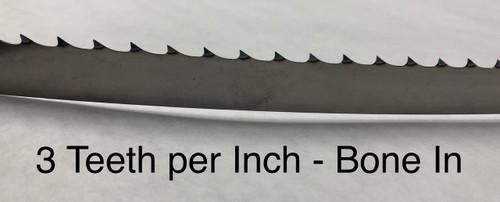 164 1/2'' Meat Band Saw Blades - Biro 55