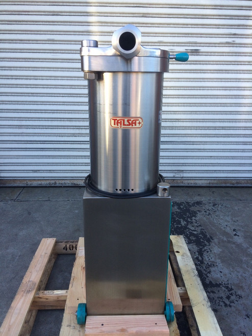 Refurbished Talsa H26S Stainless Steel Hydraulic Sausage Stuffer